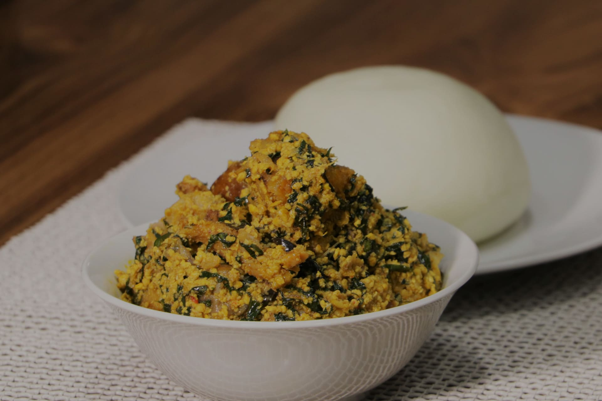 How To Prepare Egusi Soup Pounded Yam Using Symplinatural Recipes
