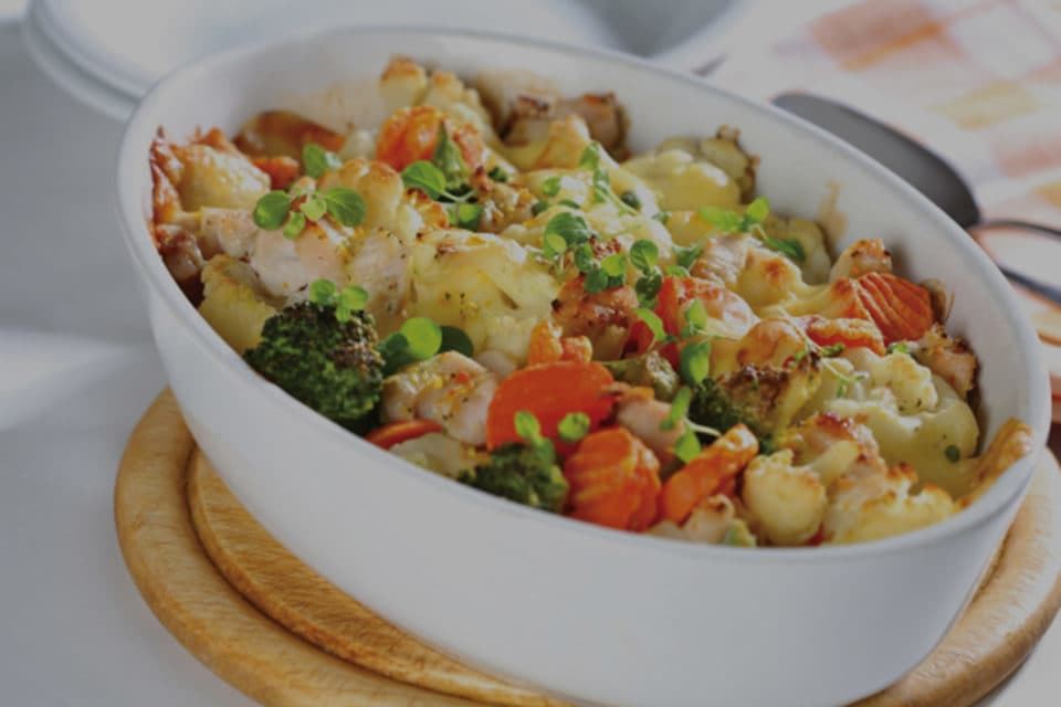Yam with Chicken & Vegetables