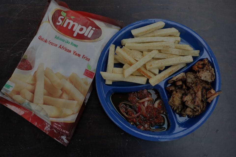 Yam Fries Barbeque Turkey
