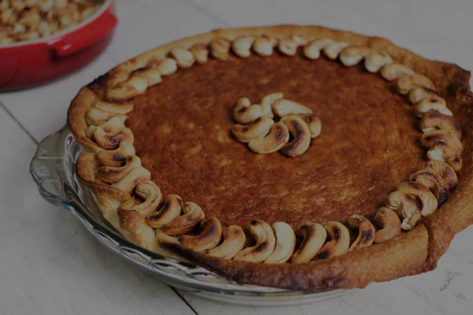 Sweet Spiced Plantain Pie